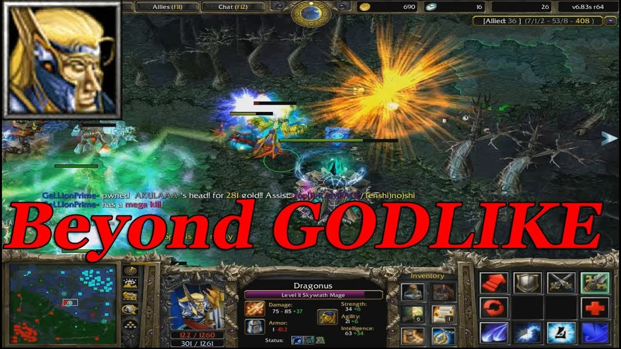 Dota 1 - Skywrath Mage BEYOND GODLIKE! (HIGH POINTS GAME ...