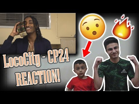 """LITTLE BROTHER REACTS TO """"CP24"""" BY LOCOCITY!!!"""