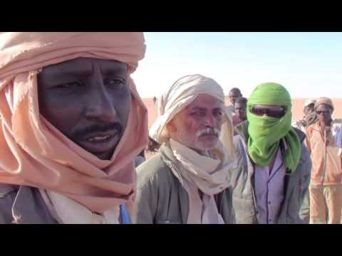 Libya to Niger journey through the desert