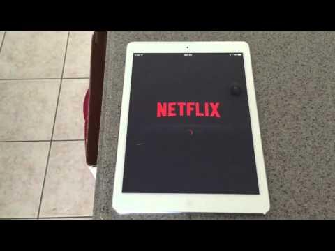 Netflix App on iOS won't open