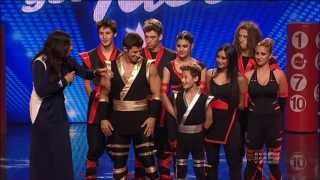X-Treme Team- Australias Got Talent 2013 Finals Performance