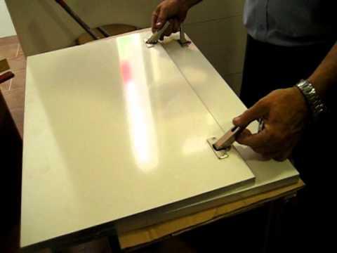 Muebles de cocina. colocación de bisagras en puertas, (8/12)   youtube