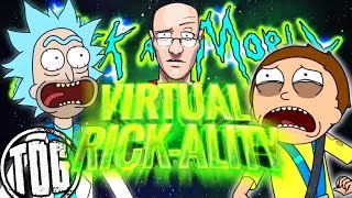 RICK & MORTY, But they're right there in front of me, and it's Weird