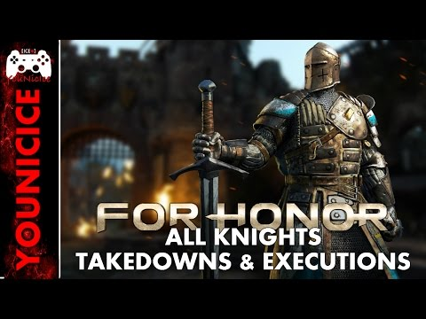 For Honor Takedowns & Finishers | Finishing Moves | Executions | Kill Montage Compilation | Combat