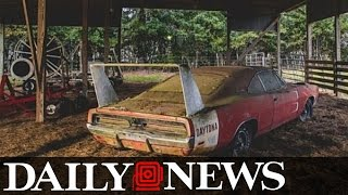 Alabama Man Stumbles Upon $180,000 Dodge Charger Dayton Rusting Away in Barn