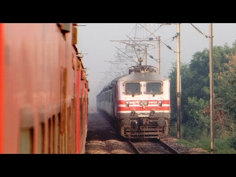 Patna Rajdhani Express : Full Journey Compilation INDIAN RAILWAYS
