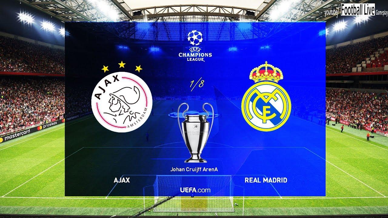 Ajax Vs Madrid: UEFA Champions League