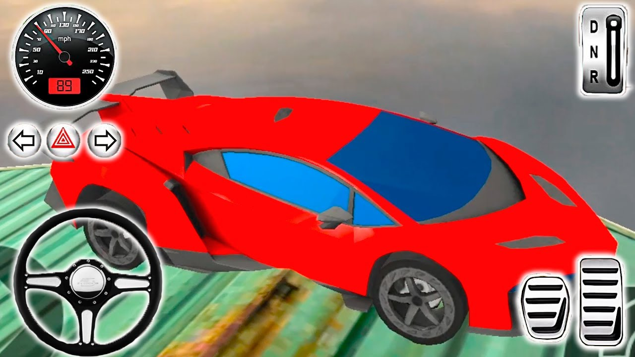 Mega Ramp Racing Impossible Tracks 3D #12 Android Gameplay