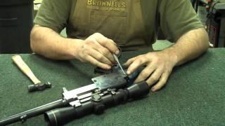 Gunsmithing Disassembly: Winchester Model 88 (.308) Part 1 (Gunworks)