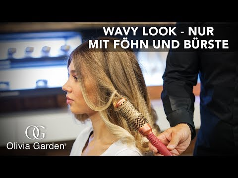 Wavy Look: Traumlocken nur mit Föhn und Rundbürste! [Hair-Tutorial by Marco Arena]