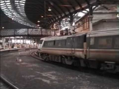 Trains at Newcastle 12th February 1996