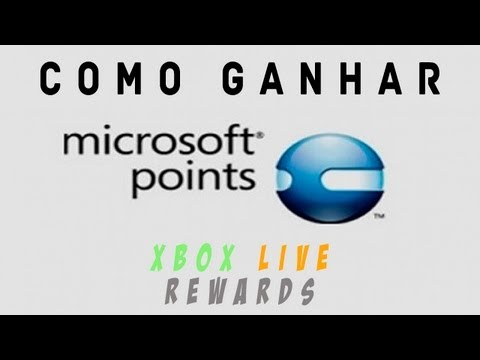 Como ganhar Microsoft Points! Live Rewards