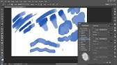 How to Create a Watercolor Photoshop Brush - YouTube