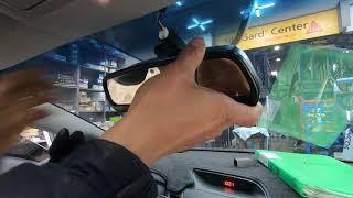 기아자동차 K3 차량에 블루링크 하이패스룸미러 설치시공…