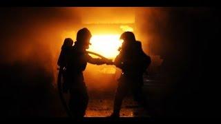 Vidéo Pompier Incendie Paris 18 eme.