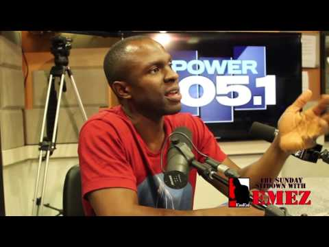 The Sunday Sit Down With EmEz: Gbenga Akinnagbe Part 1