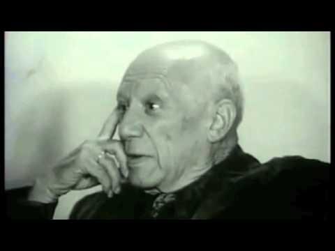 Picasso Rare Interview (1969)