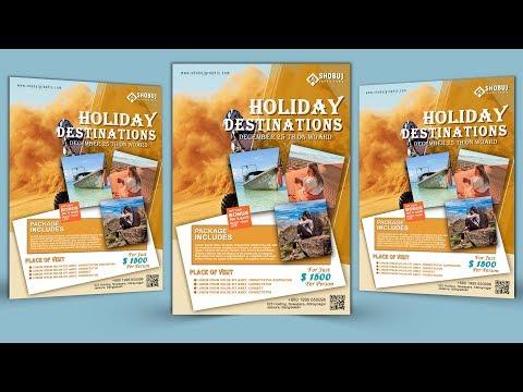 Easy Flyer Design Tutorial : Adobe Photoshop thumbnail