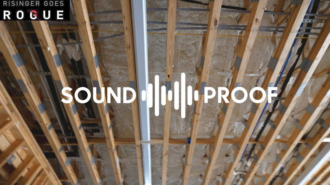 Does spray foam soundproof a floor lets test it youtube does spray foam soundproof a floor lets test it solutioingenieria Gallery