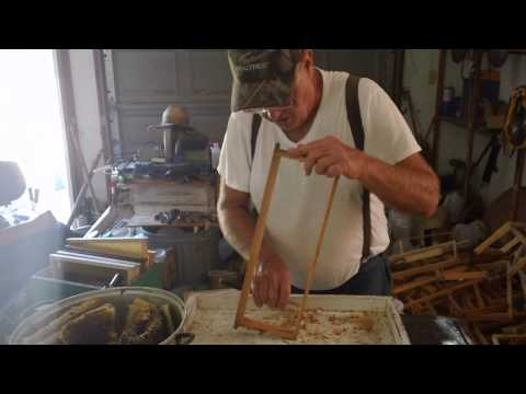 Fat Bee Man - How to Clean Frames of Wax