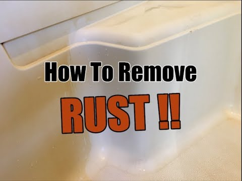 How To Remove Rust Stains From Shower | Clean With Confidence