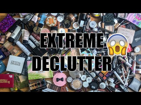 GETTING RID OF SO MUCH MAKEUP | MAKEUP DECLUTTER thumbnail