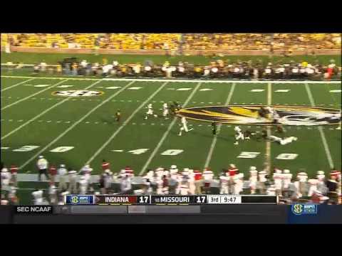 Marcus Murphy - Missouri Football - HB / KR / PR - 2014 Indiana Game