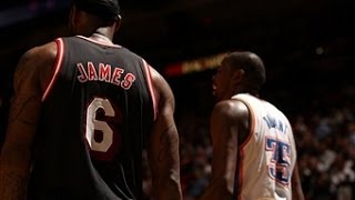 Repeat youtube video Duel: Kevin Durant vs LeBron James