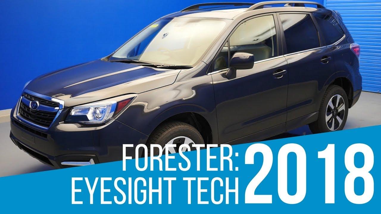 2018 subaru eyesight review. fine subaru 2018 subaru forester eyesight tech to subaru eyesight review