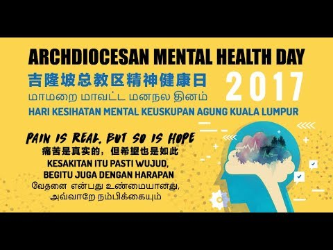 AMHD 2017: Opening Ceremony, Speech & Plenary 1 - How to Deal with Loss & Grief in Everyday Life