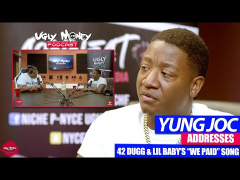 "YUNG JOC: Addresses 42 Dugg & Lil Baby song ""We Paid"" (EXCLUSIVE)  