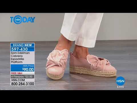 HSN | HSN Today: Sam Edelman Shoes 03.26.2018 - 07 AM