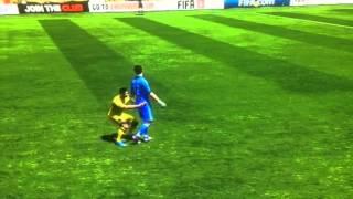 Ronaldo humping Buffon FIFA!