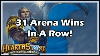 [Hearthstone] 31 Arena Wins In A Row!