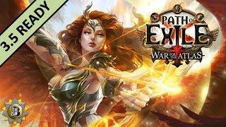 [3.4] Fire Elemental Hit Build - Deadeye Ranger - Path of Exile War For The Atlas - Delve