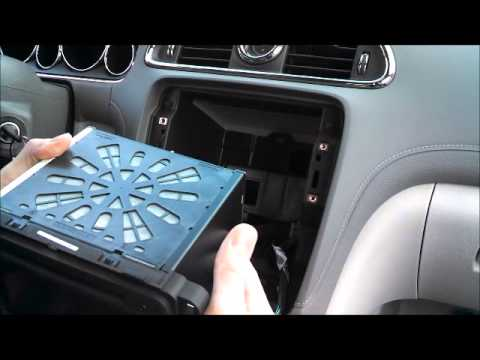 how to add factory navigation to 2013 buick enclave youtube. Black Bedroom Furniture Sets. Home Design Ideas