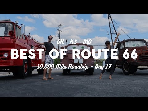 Best of Route 66: Oklahoma, Kansas, to St. Louis | 10K Road Trip Vlog Day 17