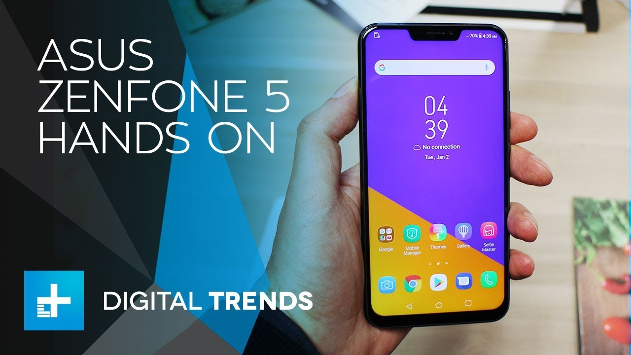 ASUS Zenfone 5 – Hands On at Mobile World Congress 2018