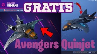 HOW TO GET A FREE DELTA ALA IN FORTNITE - QUINJET OF THE AVENGERCHALLENGEChallengeS OF END GAME