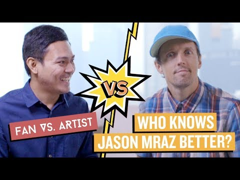 Who Knows JASON MRAZ Better? | Fan vs Artist