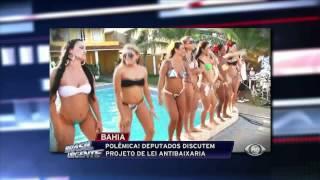 Brasil Urgente - Antibaixaria no Pagode