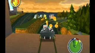 Simpsons Hit & Run Walkthrough: Level 3 - All Cards, Outfits, Wasp Cameras and Gags [2/3]