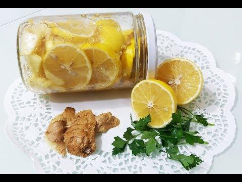 İlaç Gibi Tarif-Kış Kürü-(Zencefil Limon Bal)Çay Tarifi-
