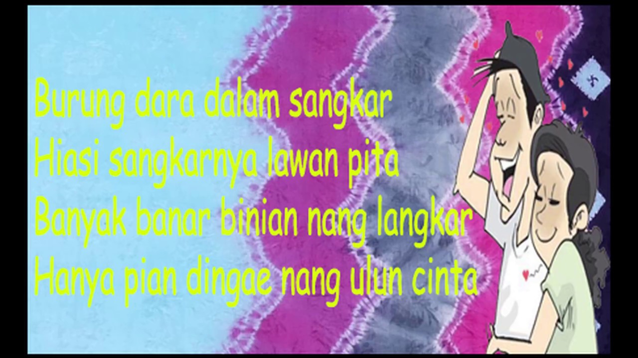 Pantun Romantis Bahasa Banjar