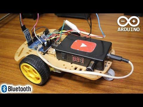 Arduino Bluetooth Робот-Машинка. Управляем со смартфона
