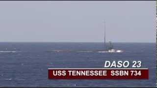 USS Tennessee (SSBN 734) Demonstration and Shakedown Operation (DASO)
