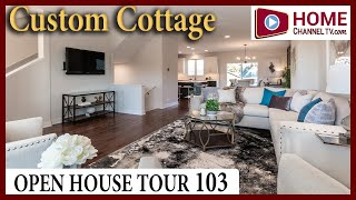 Open House Tour 103 - Custom Cottage Home Design at Stafford Place in Warrenville