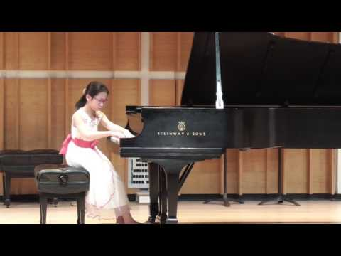 Philina Zhang Playing Birds Suite at Merkin Hall (3/5/2017)