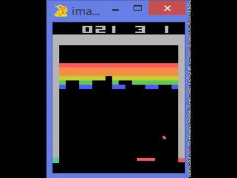 Google DeepMind's Deep Q-learning Playing Atari Breakout