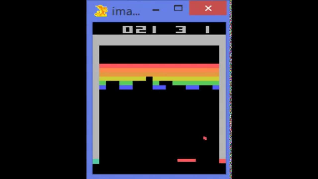 Google Deepmind S Deep Q Learning Playing Atari Breakout